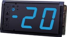 Dělený termostat Tecnologic TLB30 YYYBVBE s velkým modrým displejem