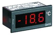 Panelový teploměr Dixell XT11S 1200N (0,1°C), napájení 24V, NTC sonda, -50 až +99°C
