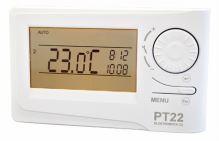 Týdenní termostat Elektrobock PT22 s podsvíceným displejem