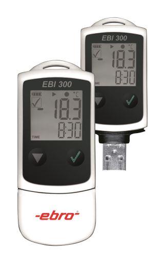 USB datalogger teploty Ebro EBI 300, -30 až +70 °C