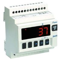 Termostat chlazení Dixell XR10D 2P0C0 s napájením 24Vac na DIN