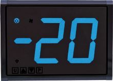 Dělený termostat Tecnologic TLB55 SYYYBVBE s velkým modrým displejem