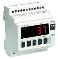 Regulátor chlazení Dixell XR60D 5P0C0 s řízením ventilátoru na DIN